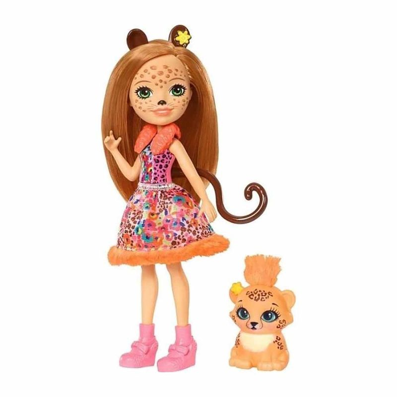 muneca-enchantimals-cherish-cheetah-mattel-fjj20