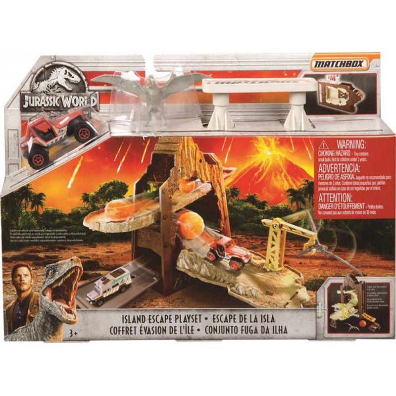 set-matchbox-jurassic-world-escape-de-la-isla-mattel-fmy54