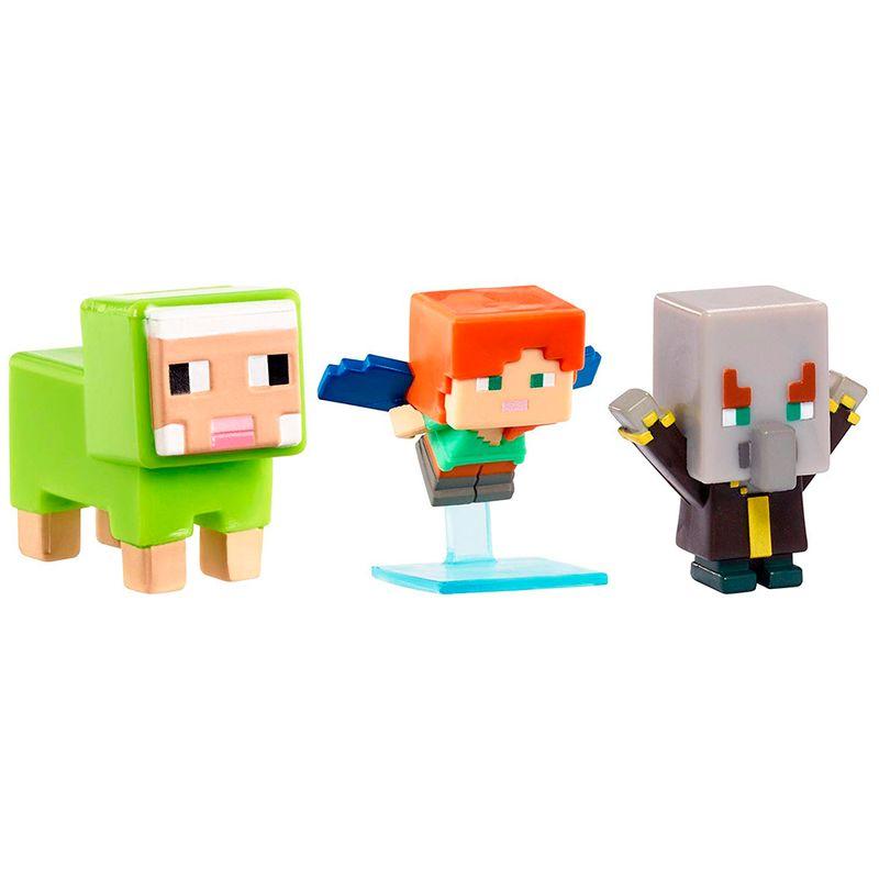 set-3-mini-figuras-minecraft-madera-serie-10-mattel-flr70