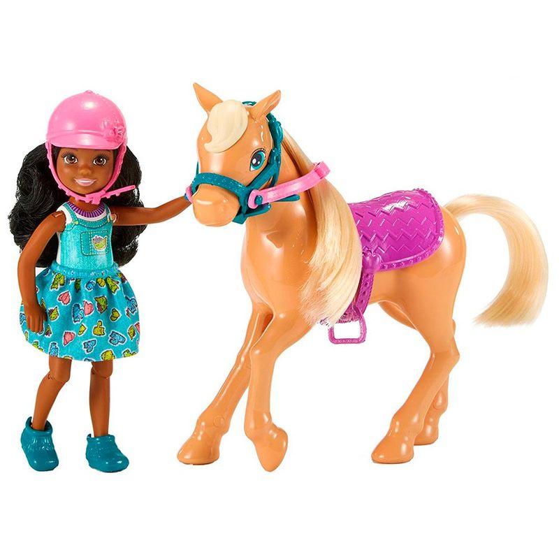 muneca-barbie-chelsea-y-caballo-mattel-frl84