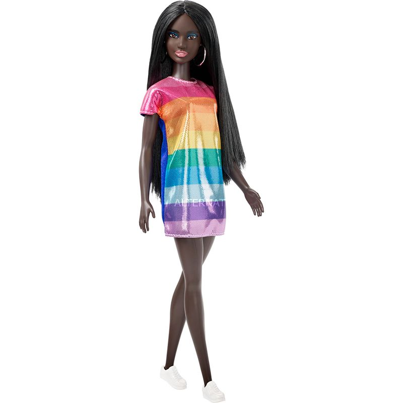 muneca-barbie-fashionista-mattel-fjf50