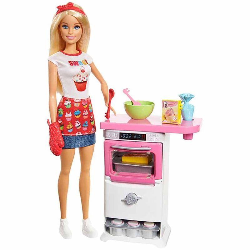 muneca-barbie-pastelera-mattel-fhp57
