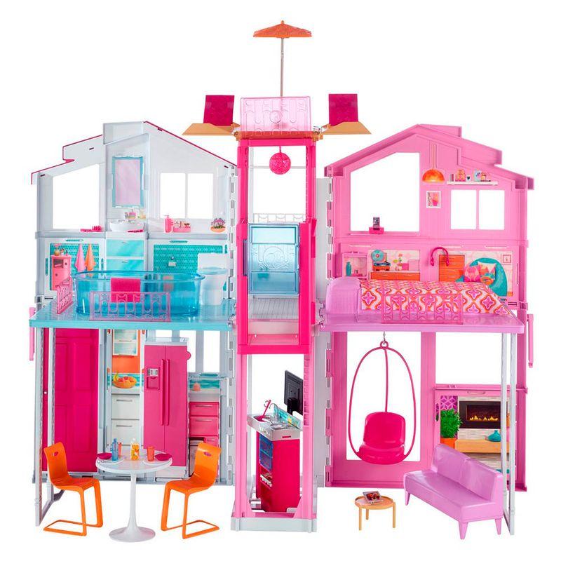 set-barbie-casa-de-campo-mattel-dly32