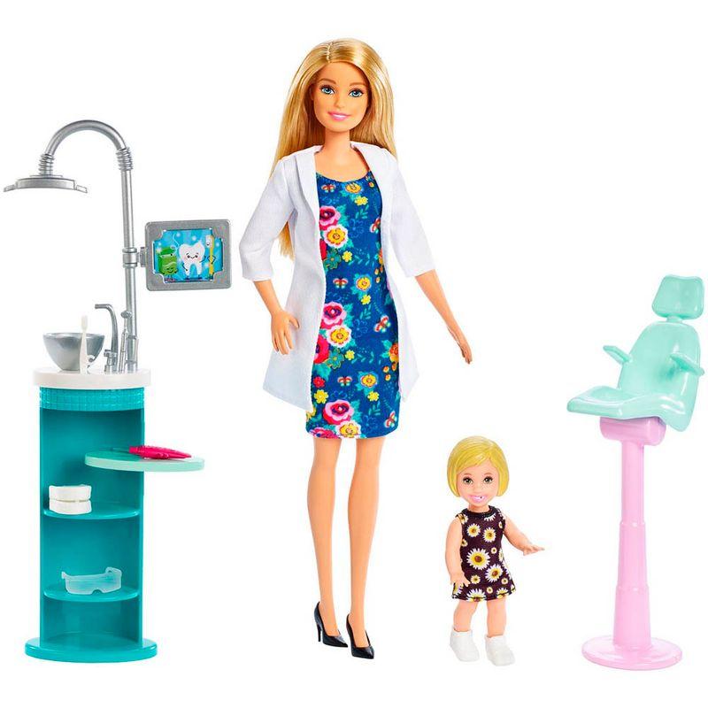 set-muneca-barbie-dentista-mattel-fxp16