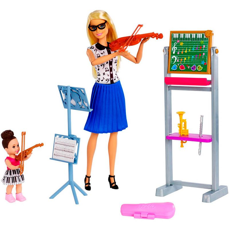 set-muneca-barbie-profesora-de-musica-mattel-fxp18