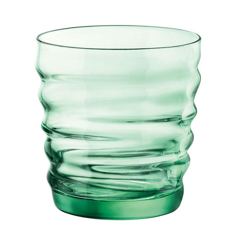 vaso-riflessi-agua-green-bormioli-rocco-glass-580521