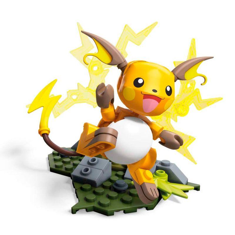 Pokémon Construx Raichu Mega Mega Construx Pokémon Raichu Construx Mega 5ARj3L4