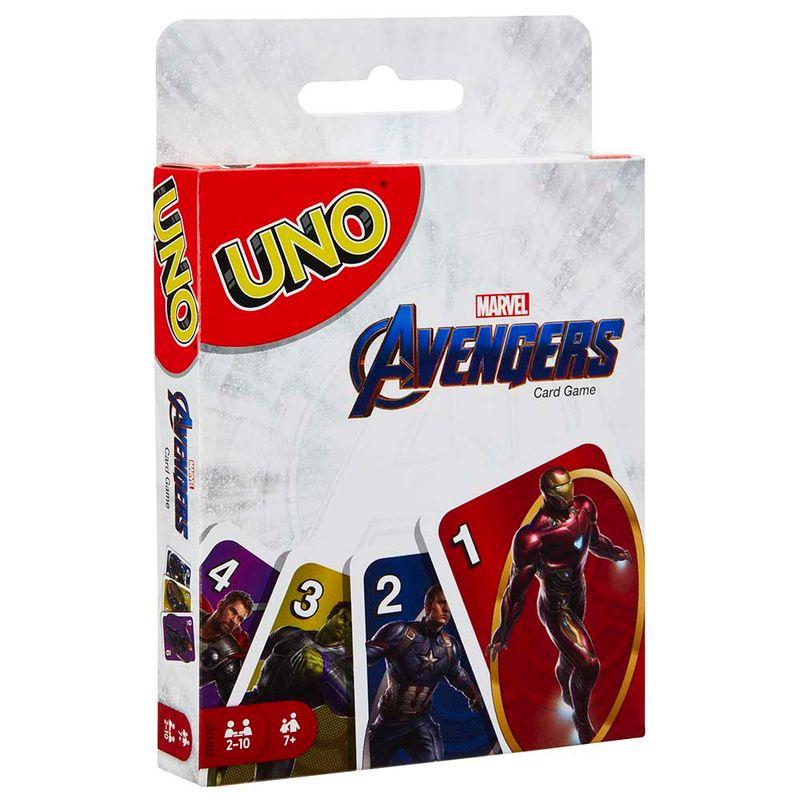 juego-de-cartas-uno-avengers-mattel-226640