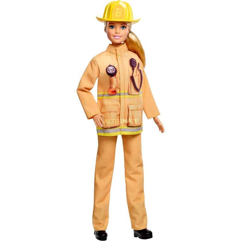 muneca-barbie-bombero-mattel-226664