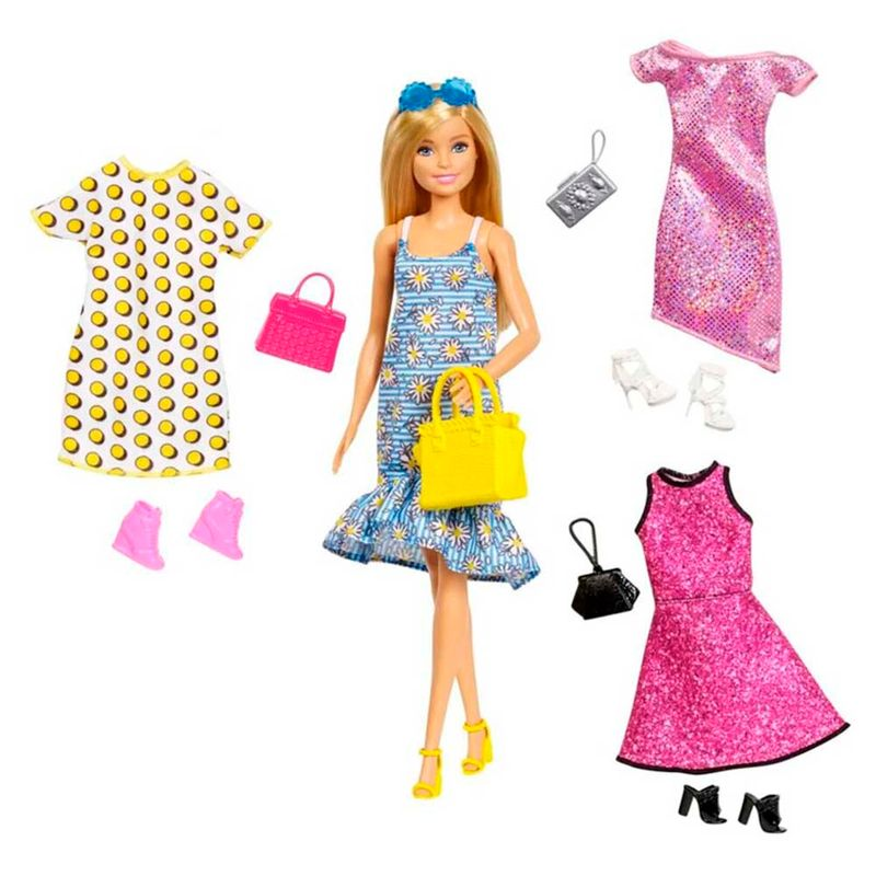 set-muneca-barbie-set-doll-y-party-fashiions-mattel-226639