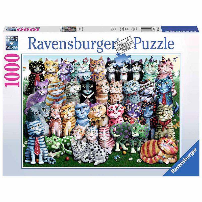 rompecabezas-1000-pcs-cat-family-reunion-ravensburger-ght12