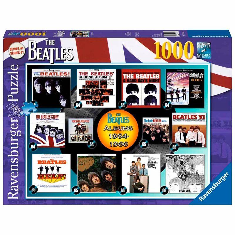 rompecabezas-1000-pcs-beatles-albums-1964-66-ravensburger-226602