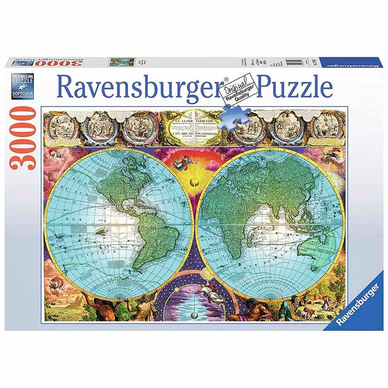 rompecabezas-x-3000-pcs-antique-map-ravensburger-