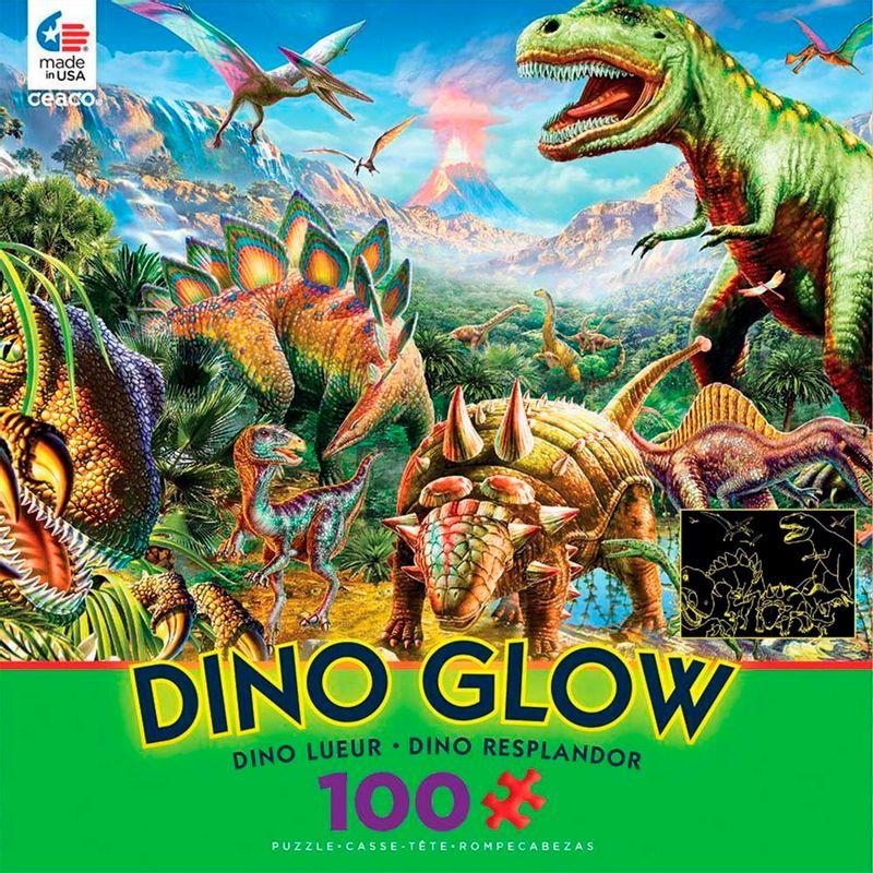 rompecabezas-x-100-pcs-dinosaurs-dino-glow-ceaco-cea160423