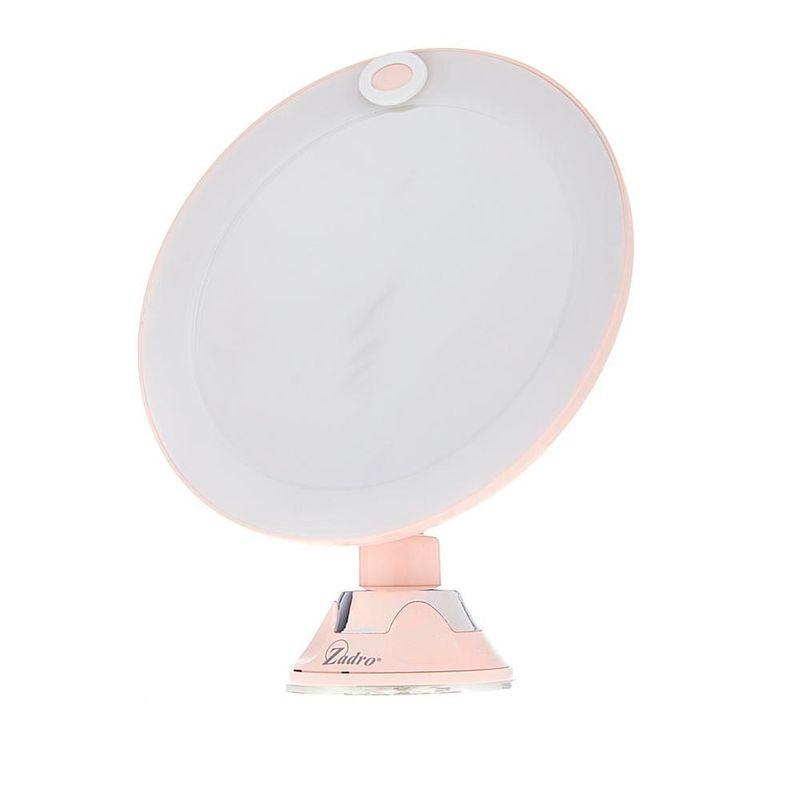 espejo-de-bano-10x-led-rosado-zadro-LEDPSC2002