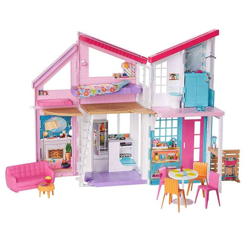 set-barbie-casa-malibu-mattel-fxg57