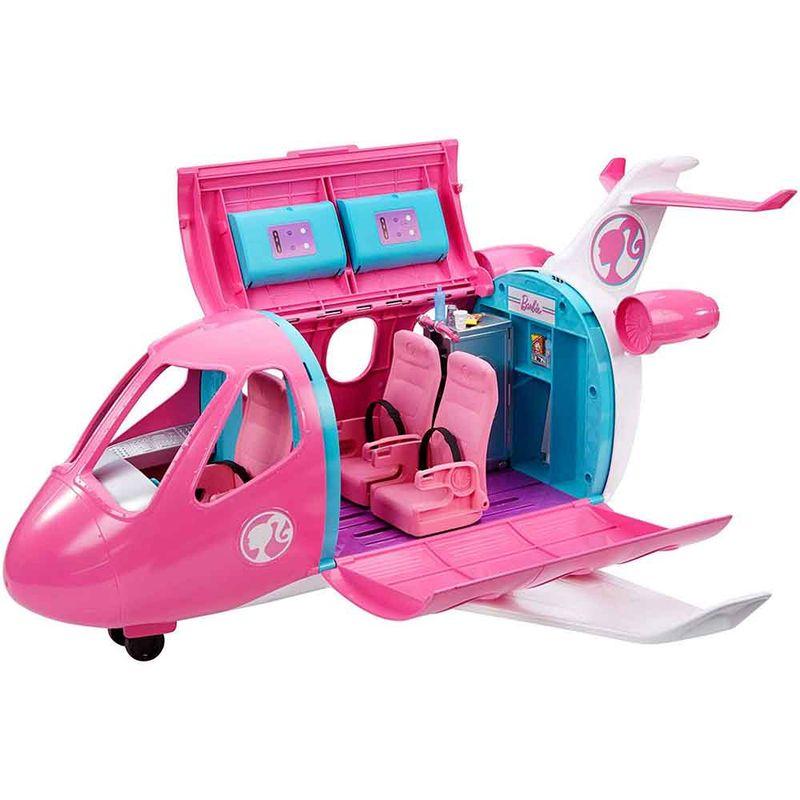 set-barbie-avion-mattel-gdg76