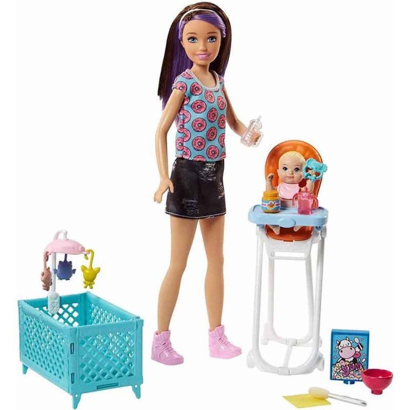 set-barbie-ninera-mattel-ggp42