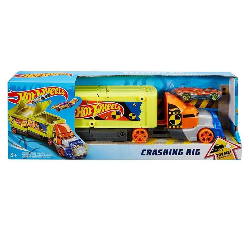 camion-hot-wheels-crashing-rig-mattel-gck39