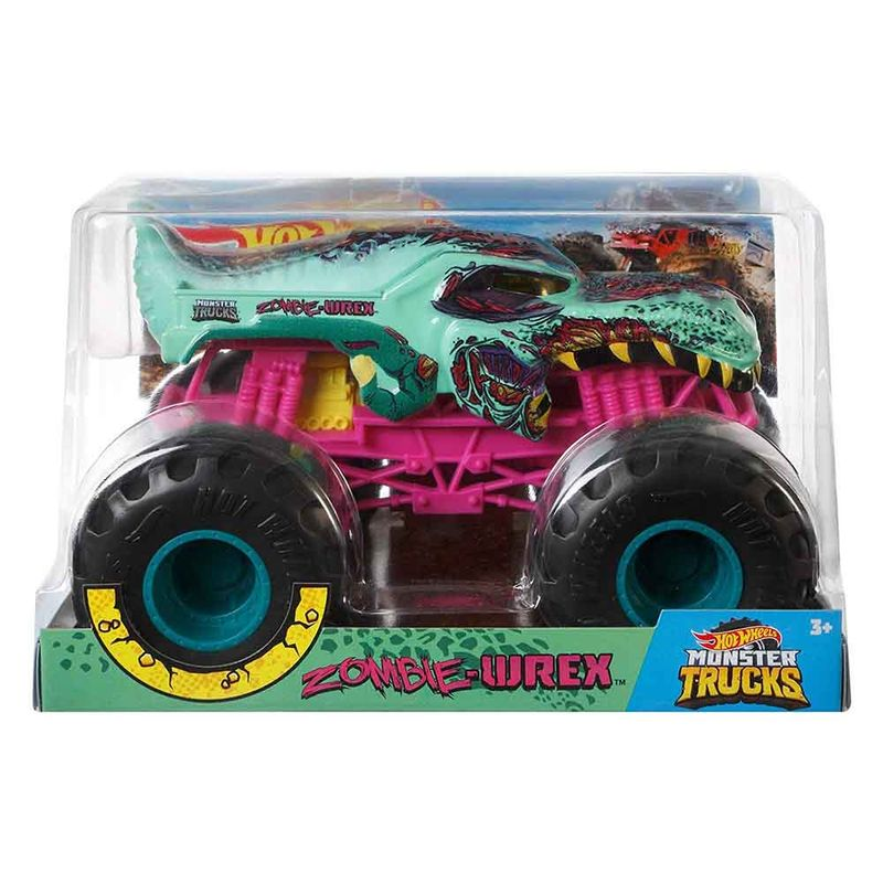 vehiculo-hot-wheels-monster-trucks-zombie-wrex-mattel-gcx24