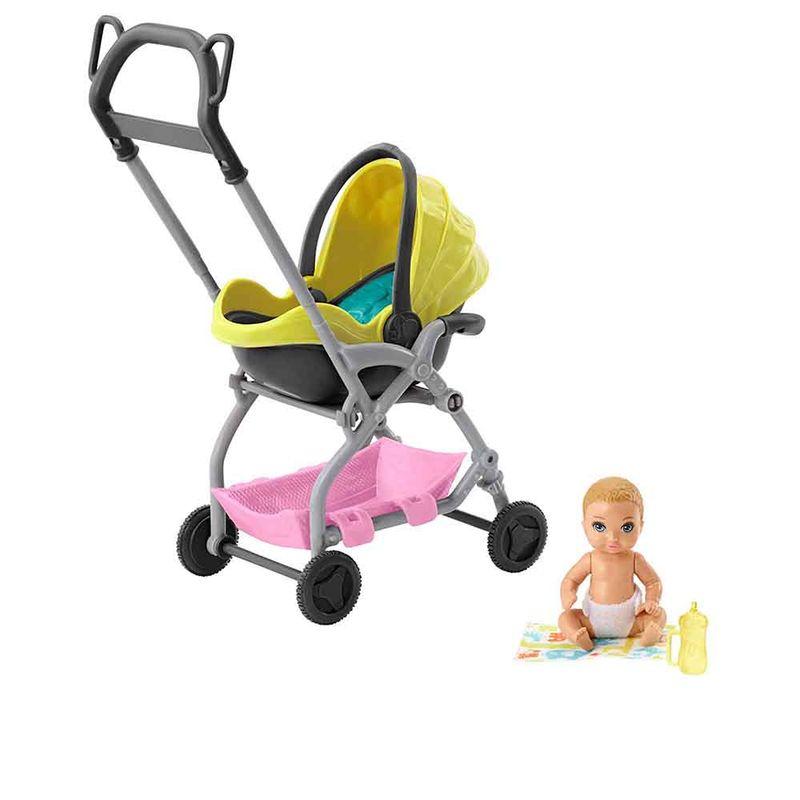 coche-bebe-barbie-mattel-gfc18