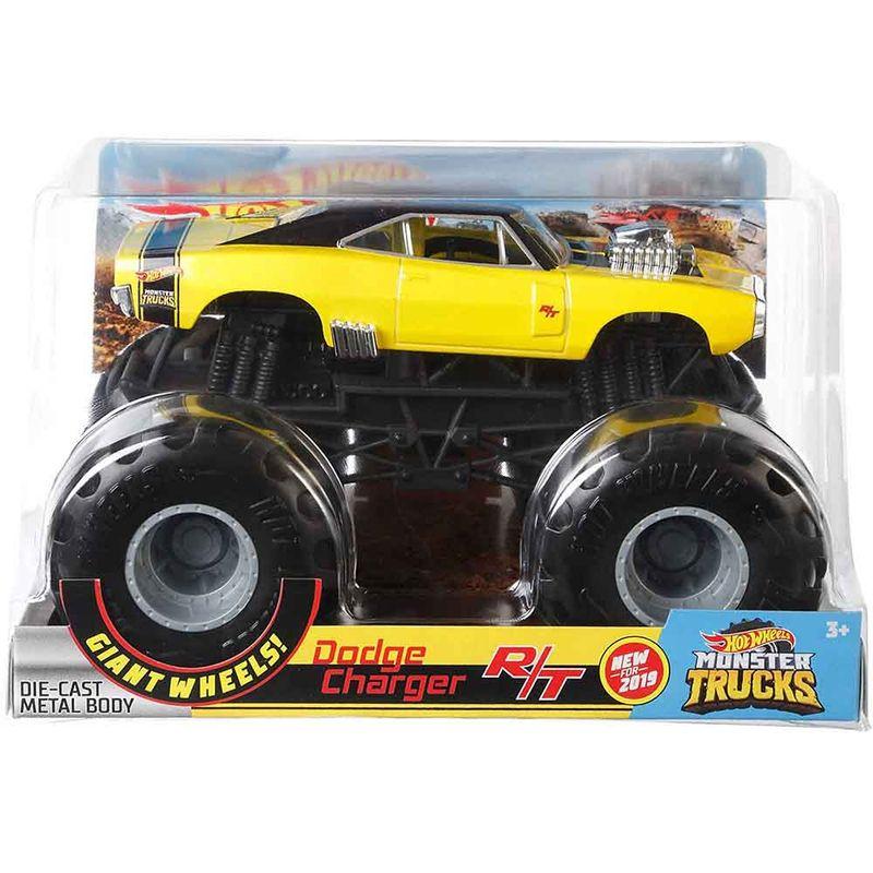vehiculo-hot-wheels-monster-trucks-dodge-charger-rt-mattel-gbv30