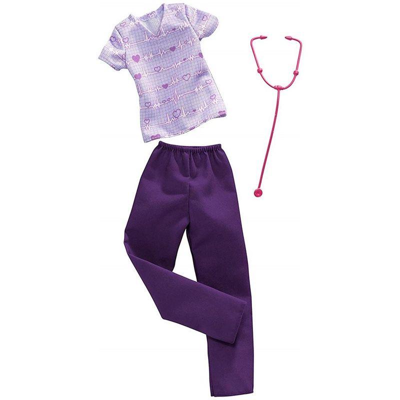 barbie-ropa-y-accesorios-enfermera-mattel-fxh96
