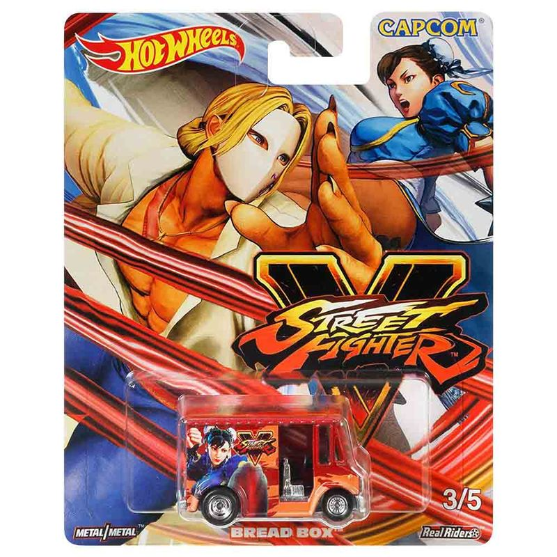 carro-hot-wheels-street-fighter-bread-box-mattel-fky44